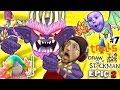 Troll MOVIE POPPY SENJATA! Menggambar FIGHT Stickman EPIC 2 🚸 Bab 7 BERGEN BOSS BATTLE w / FGTEEV