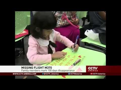 MH370 family members mark 100 days of disappearance