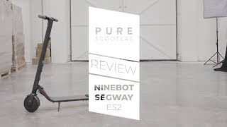 Ninebot Segway ES2 Review | Electric Scooter | Pure Scooters