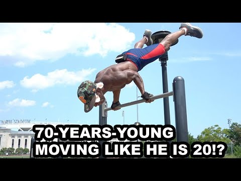 70 Year old STRONG MAN shares Calisthenics workout & Knowledge to stay forever young