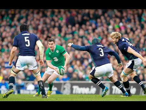 Official Extended Highlights (Worldwide) - Ireland 35 - 25 Scotland   RBS 6 Nations