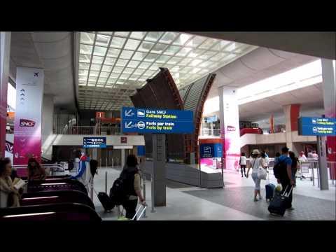 Самостоятельные путешествия. Как добраться из аэропорта Шарль Де Голь до Парижа