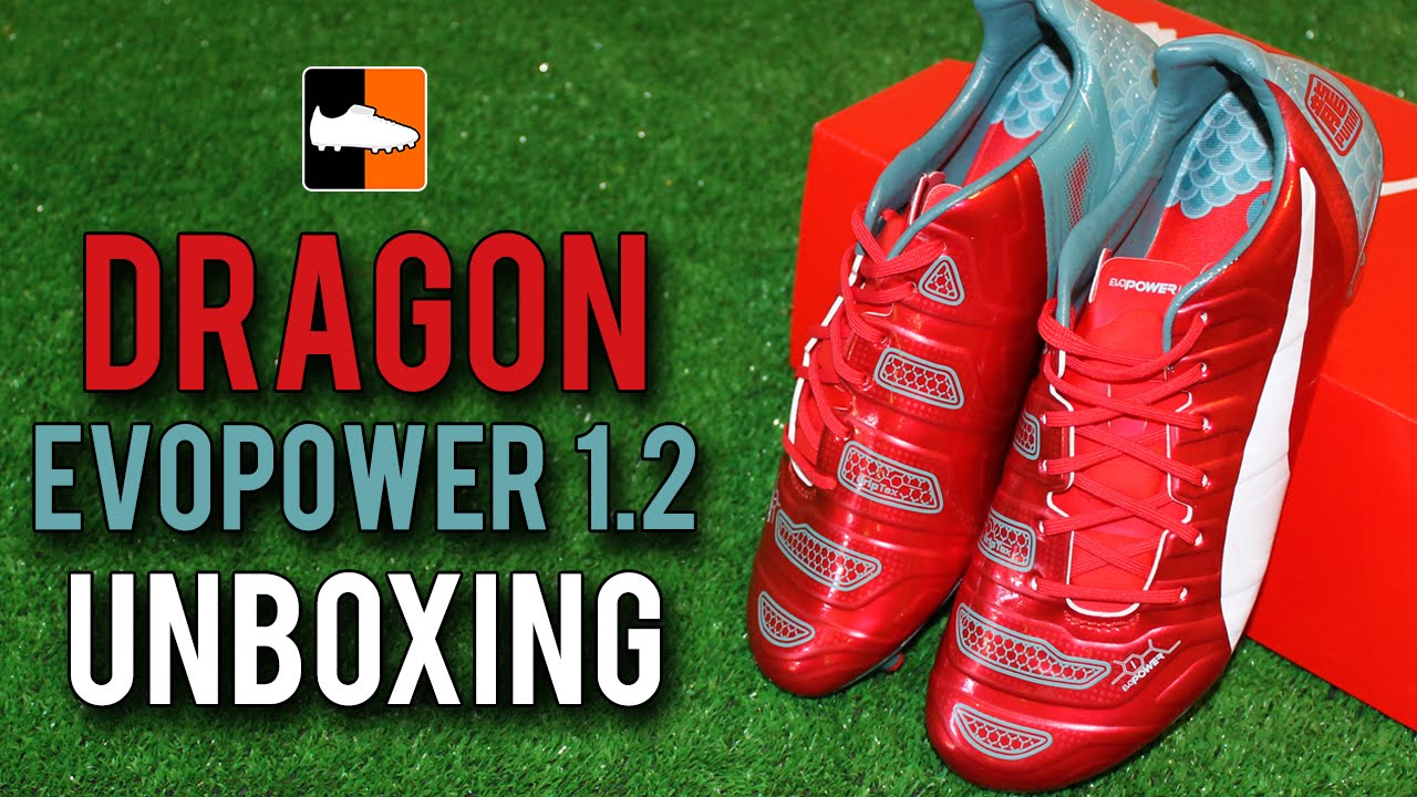 03656f85276 PUMA evoPOWER 1.2 Limited Edition Dragon Unboxing