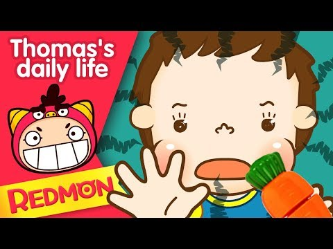 Thomas's daily life #39 Don't put it in your mouth |Nursery Rhymes| [REDMON]