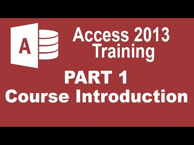 Microsoft Access 2013 Tutorials for Beginners
