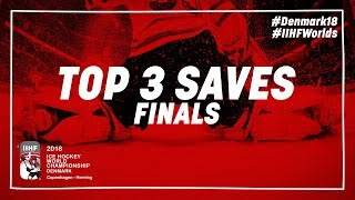 Top Saves of the Day May 20 2018 | #IIHFWorlds 2018