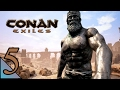 Conan Exiles 5:  Stonemasonry good, scorpions bad!  Let's Play Conan Exiles Gameplay