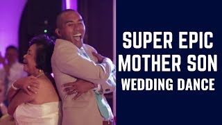 Super Epic Mother Son Wedding Dance!