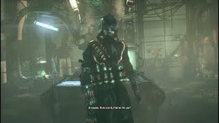 Batman Arkham Knight Walkthrough Gameplay Part 4 - New Batsuit (PS4)