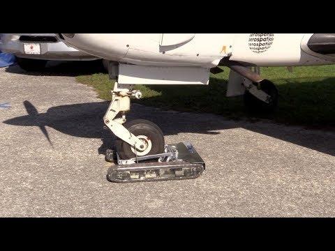 Remote Control Aircraft Tug