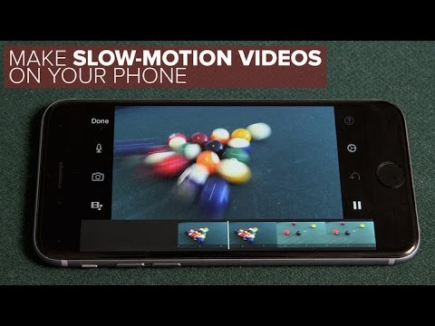 Make slow-motion videos on a phone