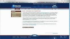 How To Search Federal Court Records Using PACER with the ICIJ