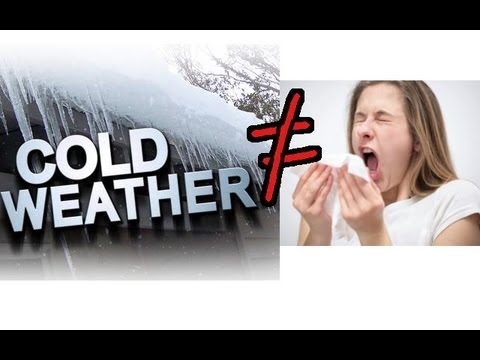 Can the cold weather make you sick