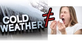 Cold Weather does NOT make you sick! Weather vs the Flu and Common Cold
