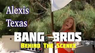 Alexis Texas  BANGBROS   Behind The Scenes Interview with