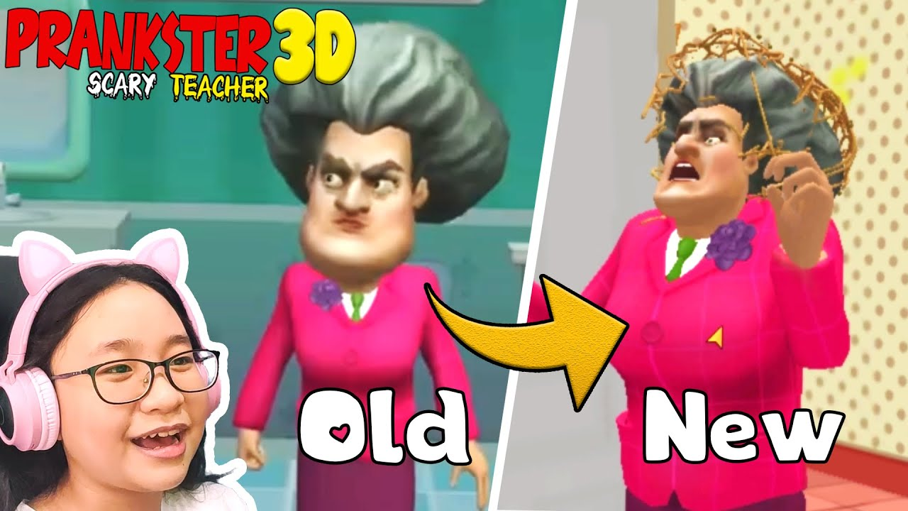 Prankster 3D (Scary Teacher 3D) NEW UPDATE and NEW LEVELS!!! - Let's Play Prankster 3D