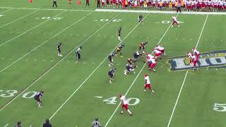 Montclair State Football Highlights vs. TCNJ - 10/7/17