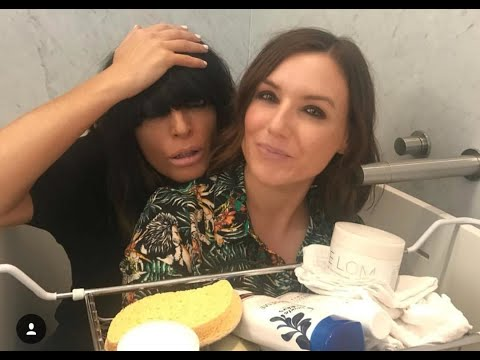 In The Bathroom with Claudia Winkleman Part One