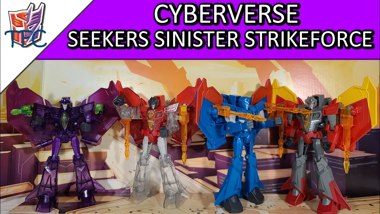 TF Collector Cyberverse Seekers Sinister Strikeforce Review