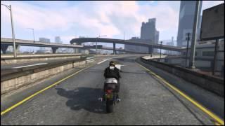 GTA V PC GAMEPLAY Casual Bike Ride