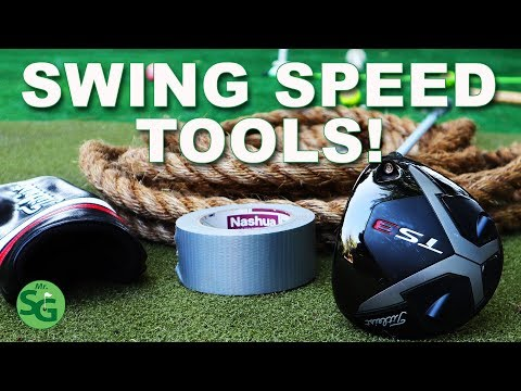 How To Get More Golf Club Head Speed - DIY for Golf