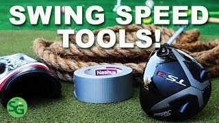 How To Get M๐re Golf Club Head Speed - DIY for Golf