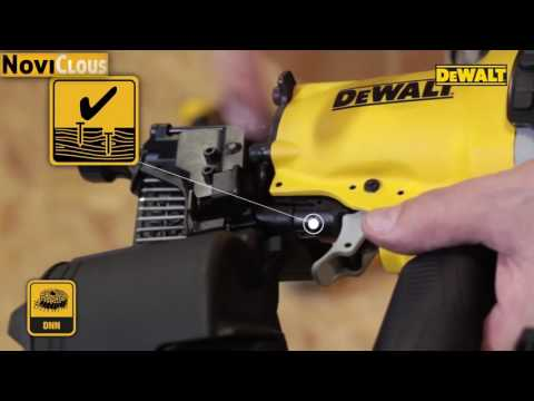 NOVICLOUS - VIDEO Cloueur DEWALT DPN64C