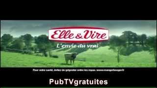 Publicité Elle & Vire - Crème Entière épaisse