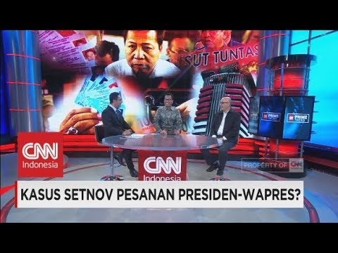 Kasus Setnov Pesanan Presiden-Wapres?