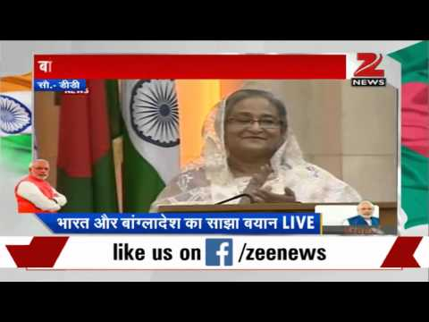 PM Modi addresses joint statement along with Sheikh Hasina in Dhaka