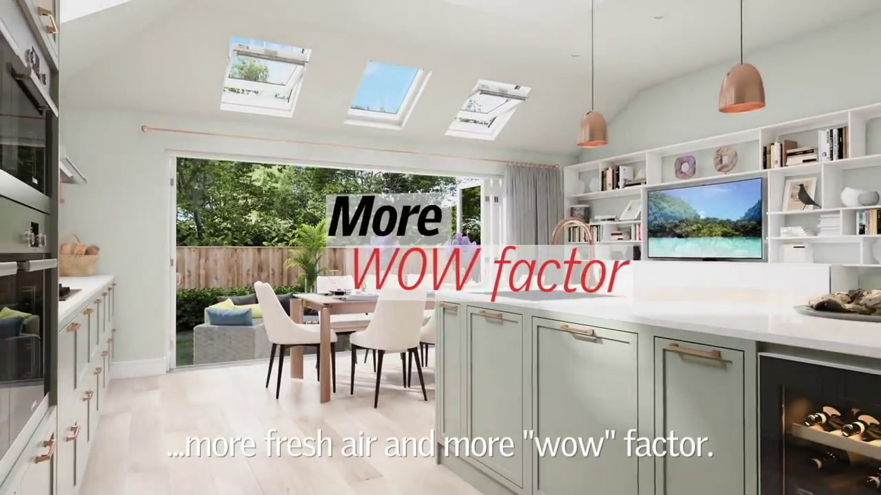Kitchen Extensions With Velux Windows What Can Velux Roof Windows Do For Your Extension