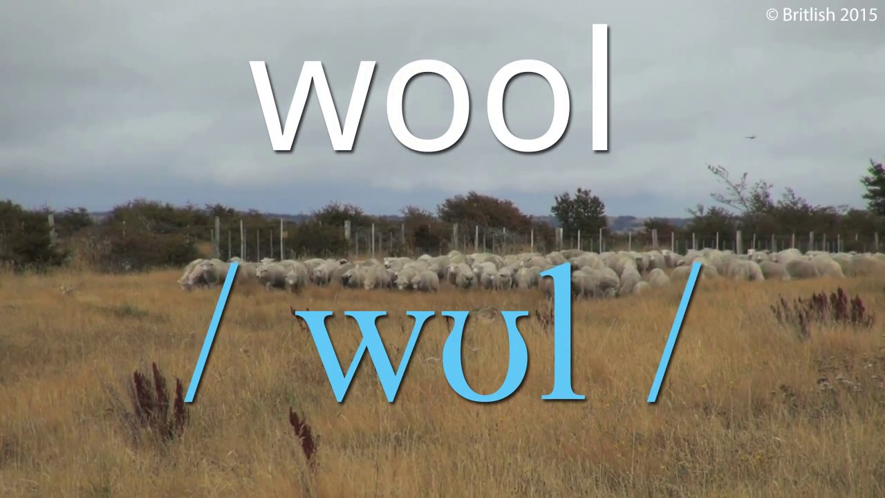 How to Pronounce Wool  Learn British English