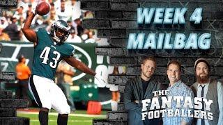 Week 4 Fantasy Football Questions - The Fantasy Footballers