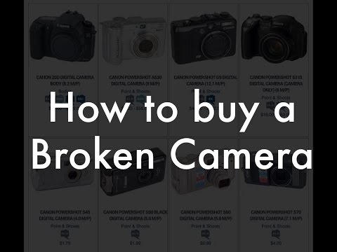 Buying Broken Cameras from KEH, AS IS!