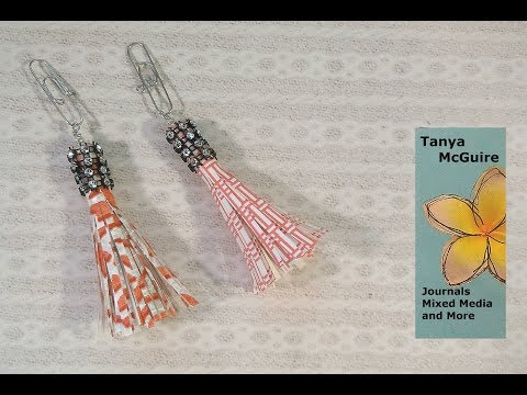 How to Make a Paper Tassel Paperclip