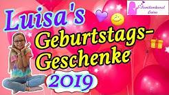 Luisa's Geburtstags - Geschenke 2019 | Luisa's 9. Geburtstag
