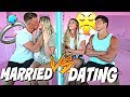 Dating vs. Married *Testing Our Relationship* - YouTube