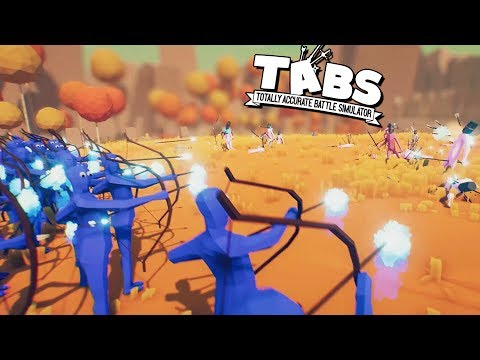TABS NEW Viking ICE Archers!  (Totally Accurate Battle Simulator Gameplay - TABS 2.0 Preview)
