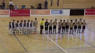 U11 Jhg 2003 1. FSV Mainz 05  vs. Eintracht Frankfurt 1:1,  FINALE Indigo Juniorcup Erlenbach 2014