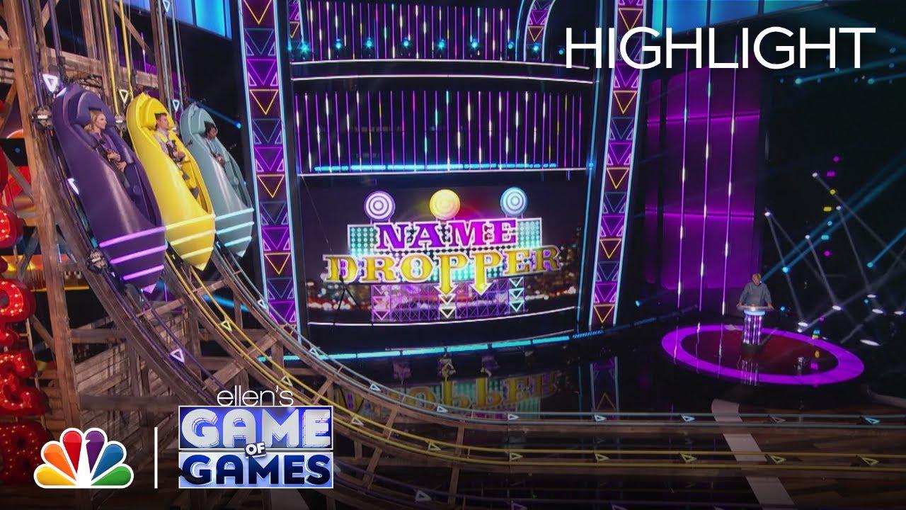 Download Name Dropper: Ellen Sends Contestants on a Wild Ride - Ellen's Game of Games 2021