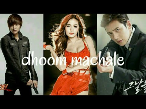 dhoom machale song | dhoom 3 | korean mix by fun girls videos k pop mix