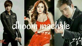 dhoom machale song   dhoom 3   korean mix by fun girls videos k pop mix