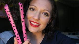 THE BEST HAIR STRAIGHTENER IV EVER HAD - PYT CERAMIC STYLING TOOL