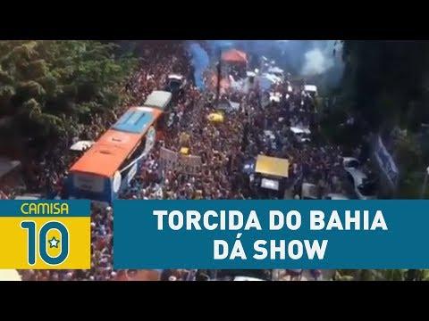 Torcida Do BAHIA Dá Show E Contagia Time Antes Do BA-VI!