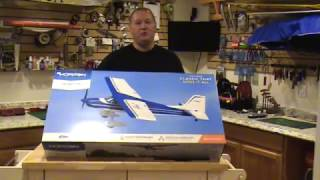 e flite valiant 1 3m bnf basic unboxing and review efl 4950