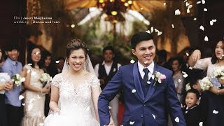 Donna and Ivan: A Wedding at Notre Dam de Vie chapel