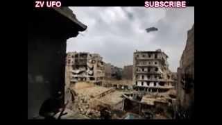SYRIAN WAR Of LARGE UFO  Нло В Сирии тоже воюет, наверное против всех