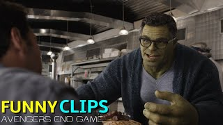 Avengers: End Game Funny Clips in Hindi #1