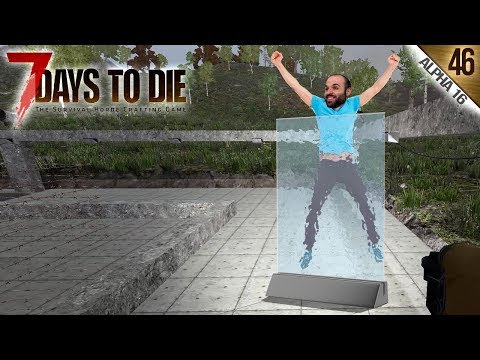 7 DAYS TO DIE A16 #46 | EL CRISTAL ANTI-BALAS | Gameplay Español