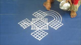 Friday padi kolam with dots 7 to 1   22 6 17
